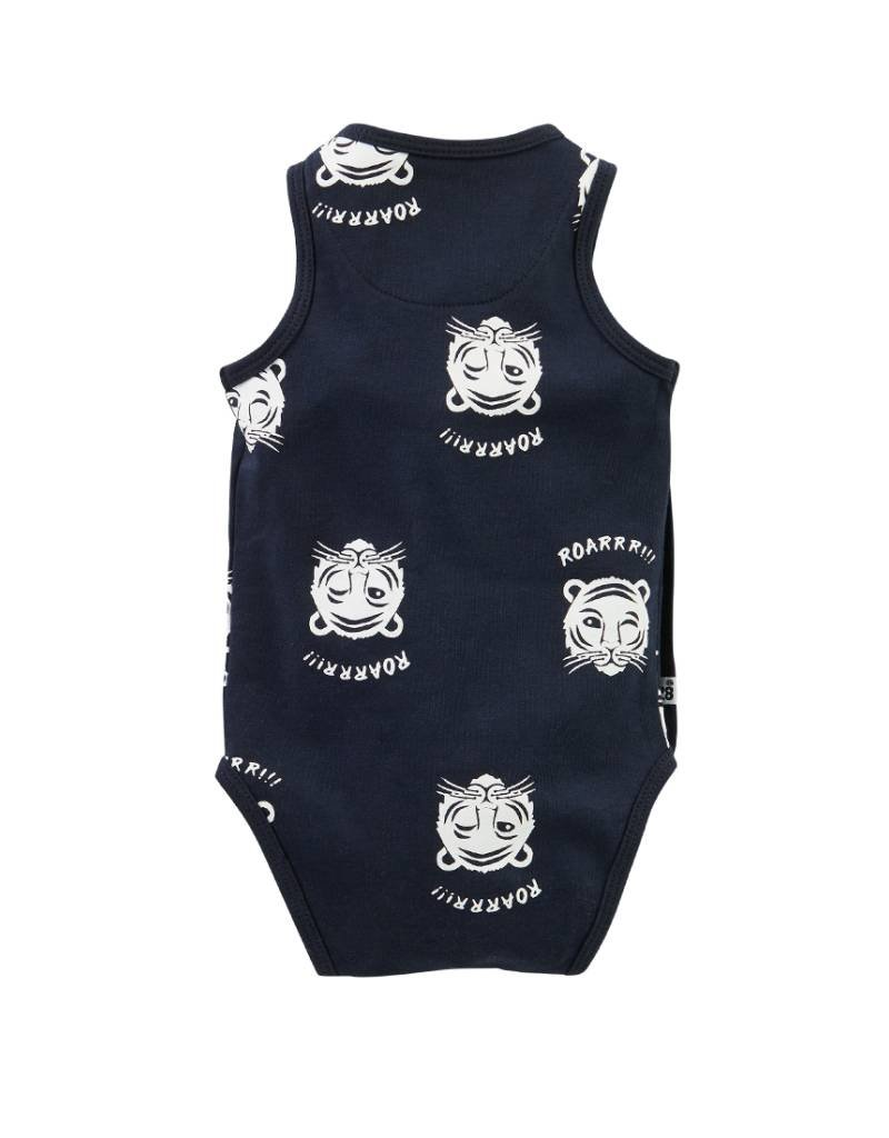 Z8 Z8 Newborn romper 'Space' navy