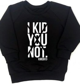 KMDB KMDB sweater Kid you not Black