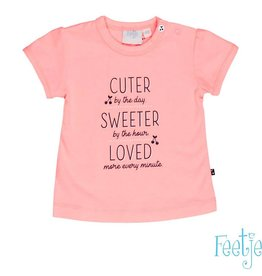 Feetje Feetje shirt Sweet Cherry roze
