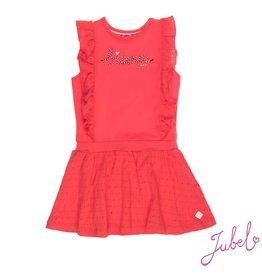 Jubel Jubel jurk bisous Seaview rood