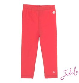 Jubel Jubel legging 7/8 uni Sea View rood