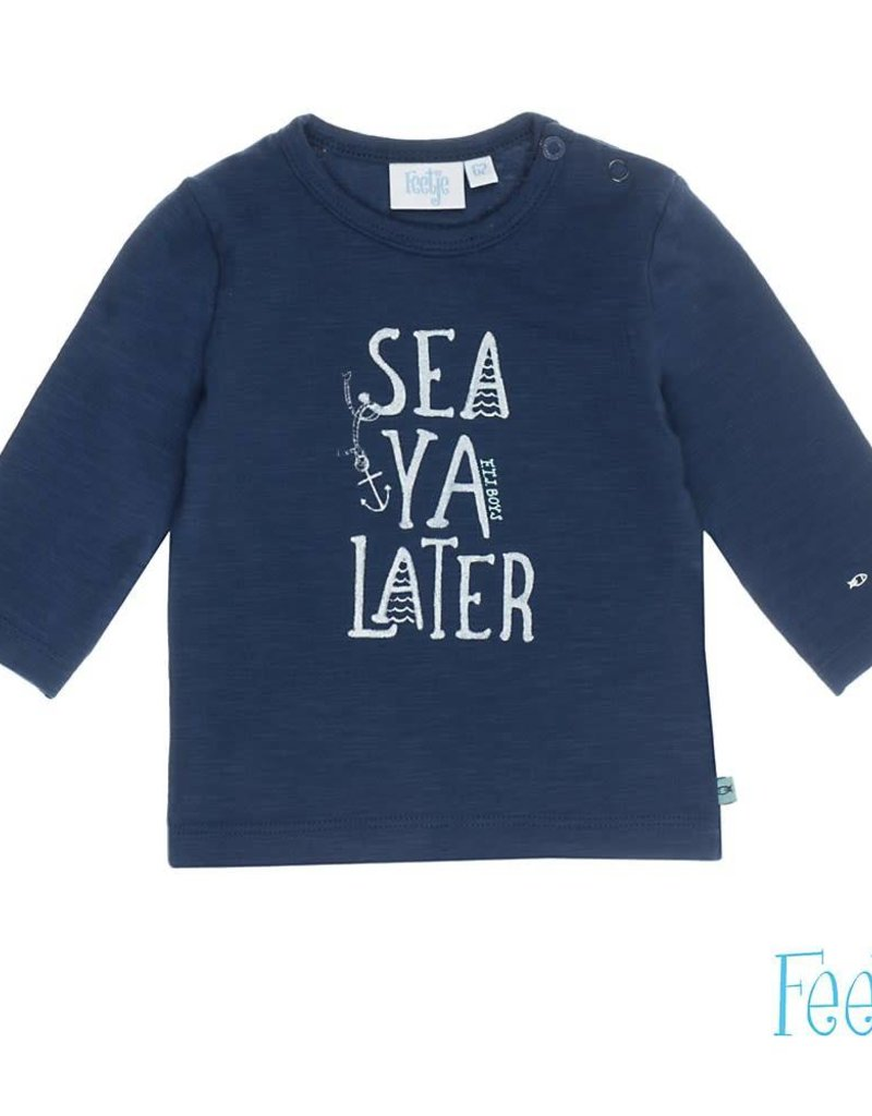 Feetje Feetje Longsleeve shirt Sea Ya Ocean marine.