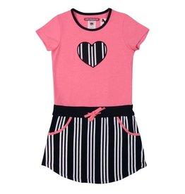 Love Station 22 Love Station22 jurk Skylar neon pink