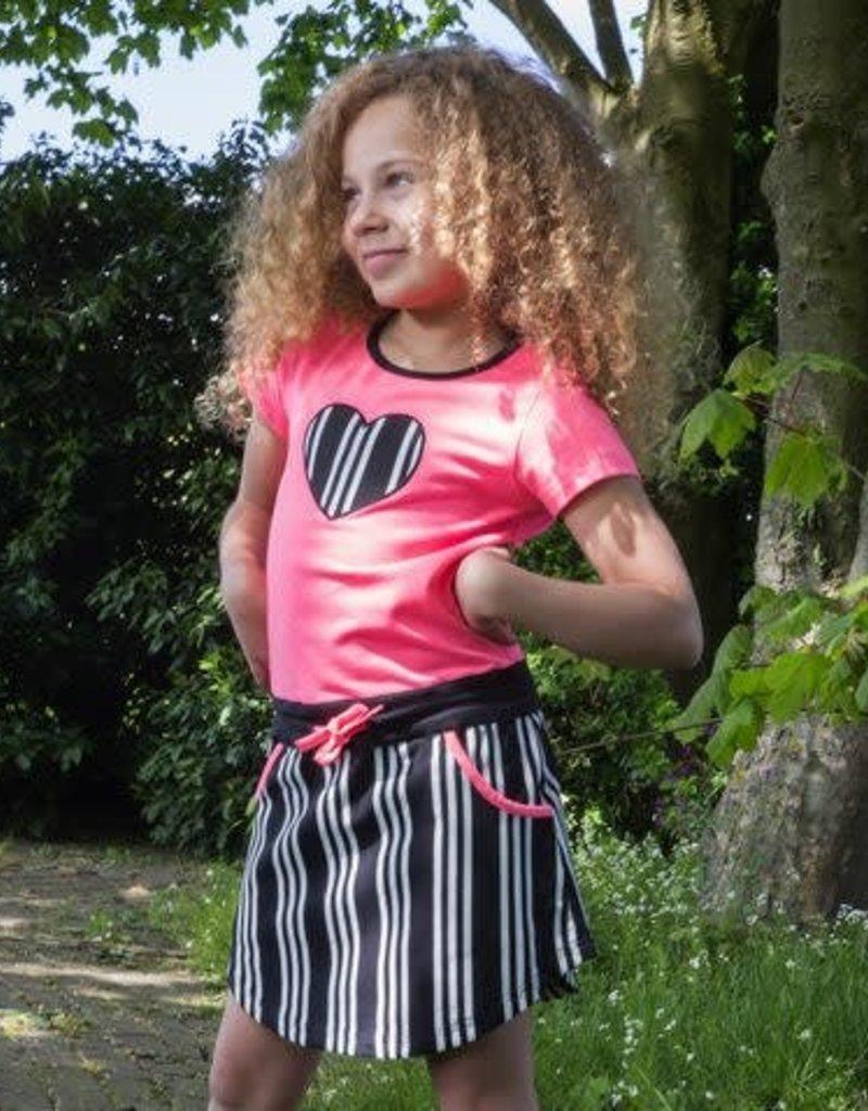 LoveStation 22 LoveStation22 jurk Skylar neon pink