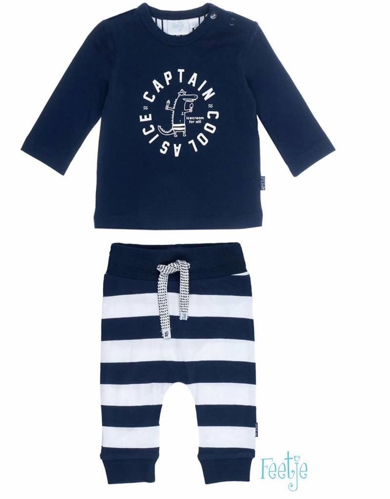 Coole Kinderkleding.Kledingset Captain Cool Shirt Broek Feetje Bo En Belle Kinderkleding