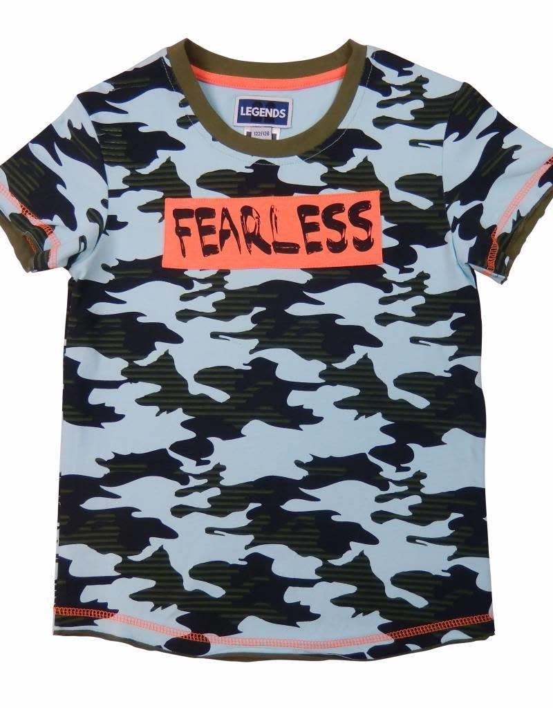 Legends22 Legends 22 T-shirt Fearless