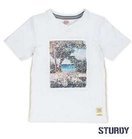 Sturdy Sturdy T-Shirt Flipping artwork wit.