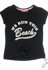 Jubel Jubel T-shirt beach La isla zwart.