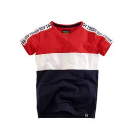 Z8 Z8 T-shirt Vince red /white/navy.