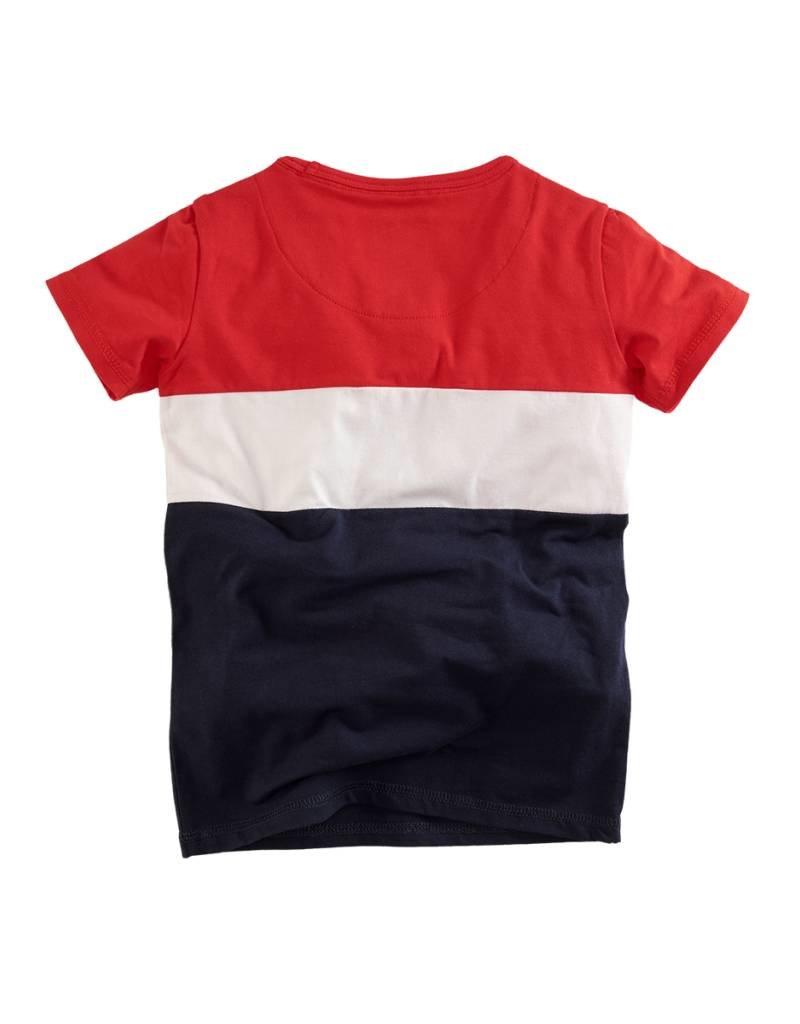 Z8 Z8 T-shirt Vince red /white/navy.