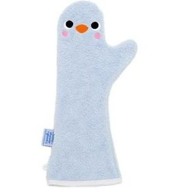Babyshower Glove Baby shower glove penguin blauw