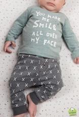 Feetje Feetje broekje Smile grijs