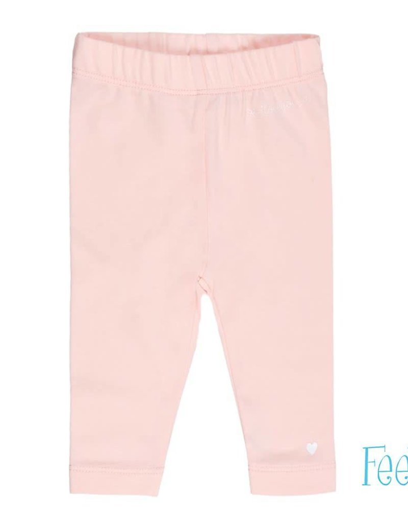 Feetje Feetje Legging I Love You So roze