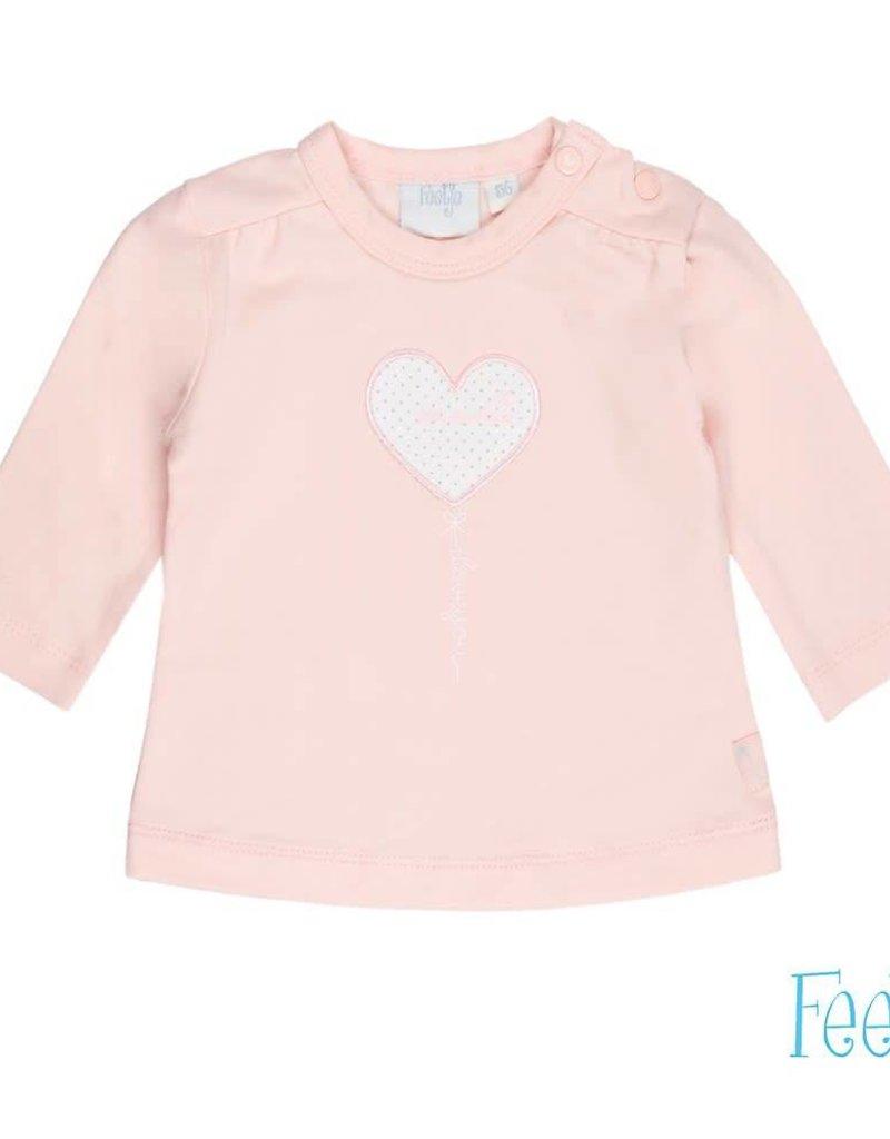 Feetje Feetje shirt You Are Here roze