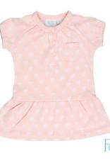 Feetje Feetje jurk love you so roze