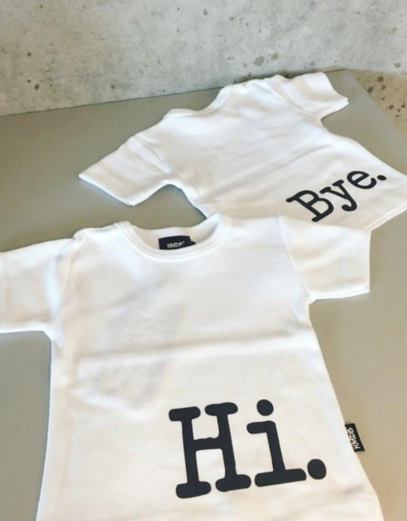 KMDB KMDB shirt Hi/Bye wit