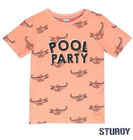 Sturdy Sturdy T-shirt k/m Pool Party Salmon.