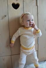 Feetje Baby pyjama geel ochre