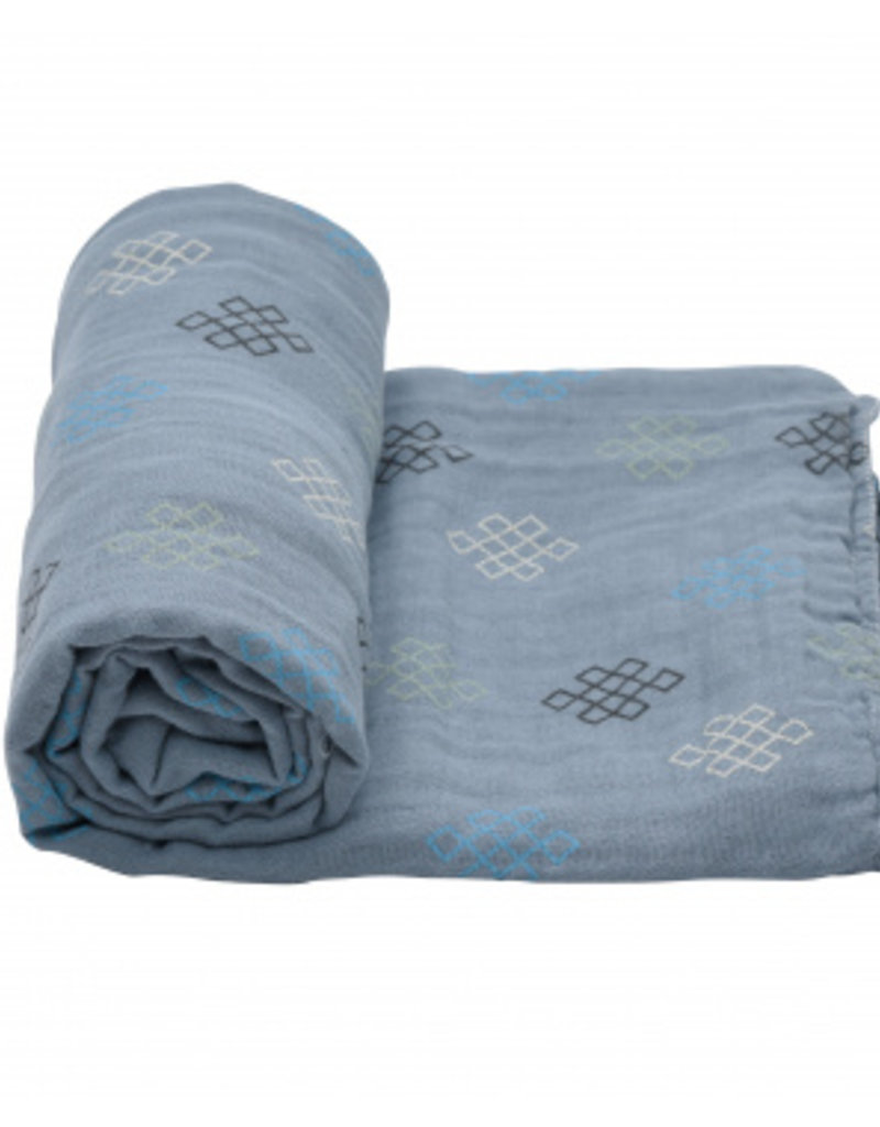 Lodger Lodger swaddle multifunctionele omslagdoek hydrofiel