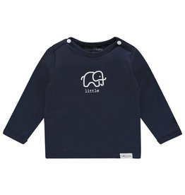 Noppies Noppies Newborn shirtje 'Amanda' Navy