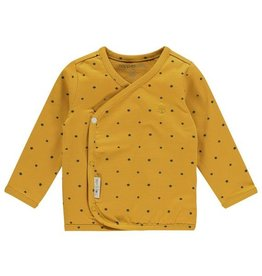 Noppies Noppies Baby overslag shirt 'Taylor' Honey yellow