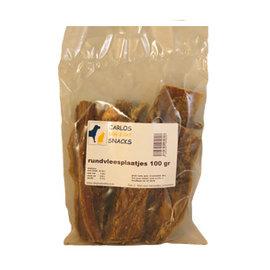 Rundvleesplaatjes 100 gram