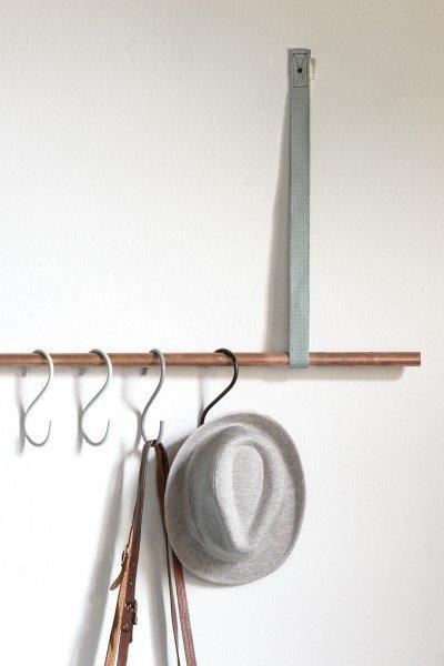 Plankdrager PIEN met wandstang