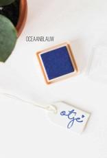 Inktpad oceaanblauw - 118