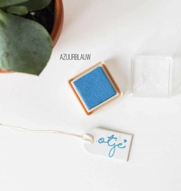 Inktpad azuurblauw - 119