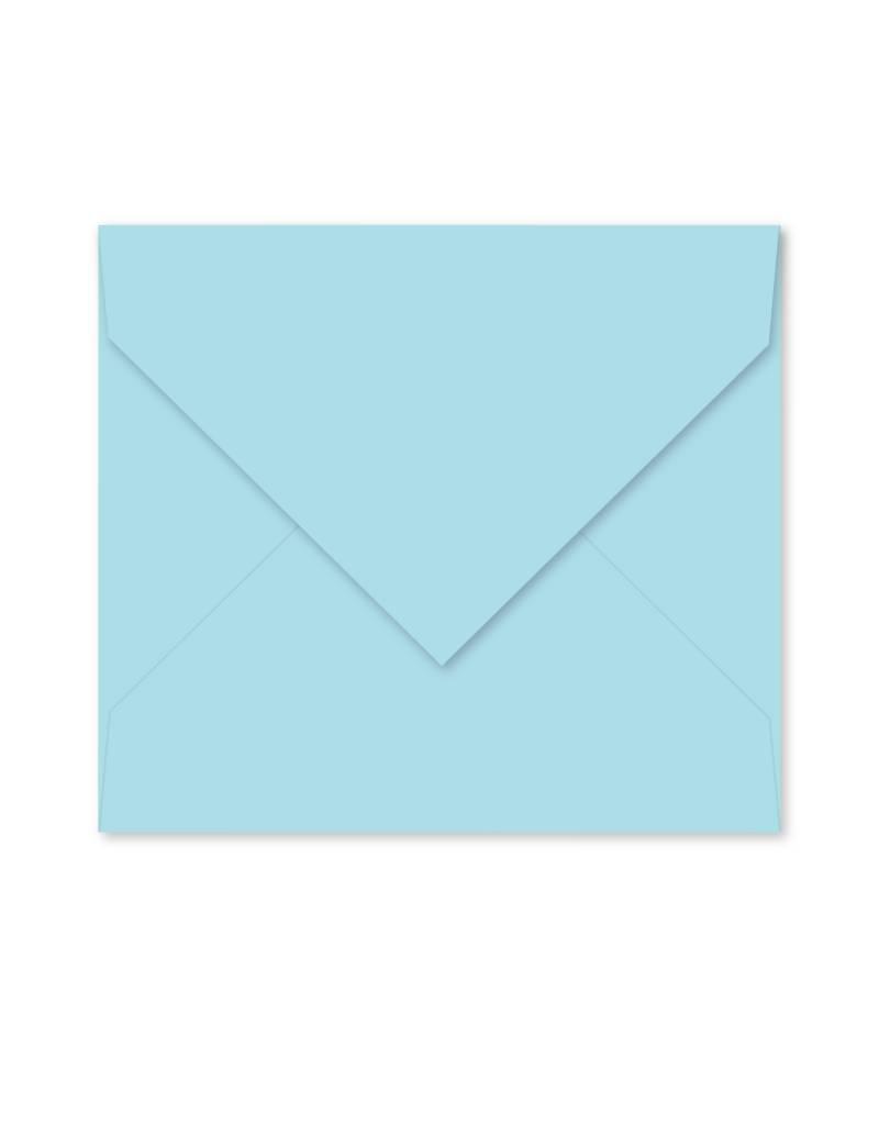 Enveloppe lichtblauw