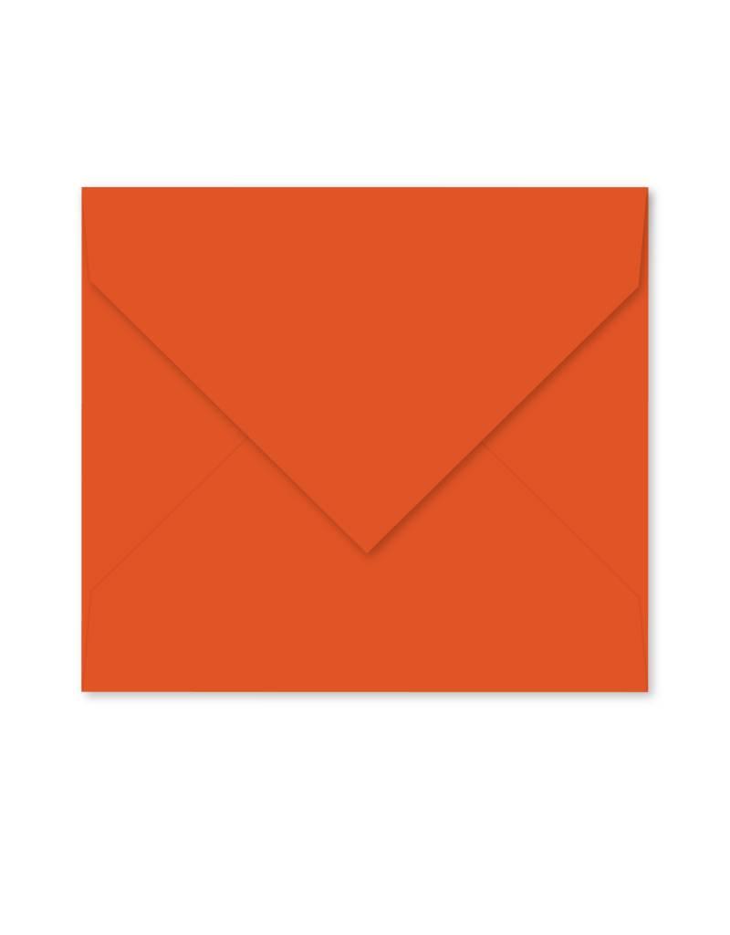 Enveloppe oranjerood