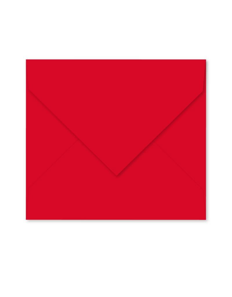 Enveloppe rood