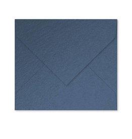 Enveloppe parelmoer blauw - M07
