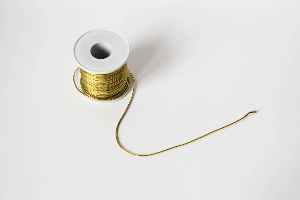 Elastisch koord goud / zilver