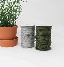 Cotton cord waxed per meter