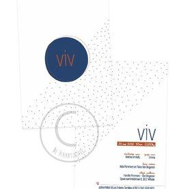 Geboortekaartje Viv