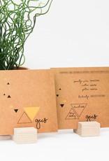Vierkant dekentje gepersonaliseerd