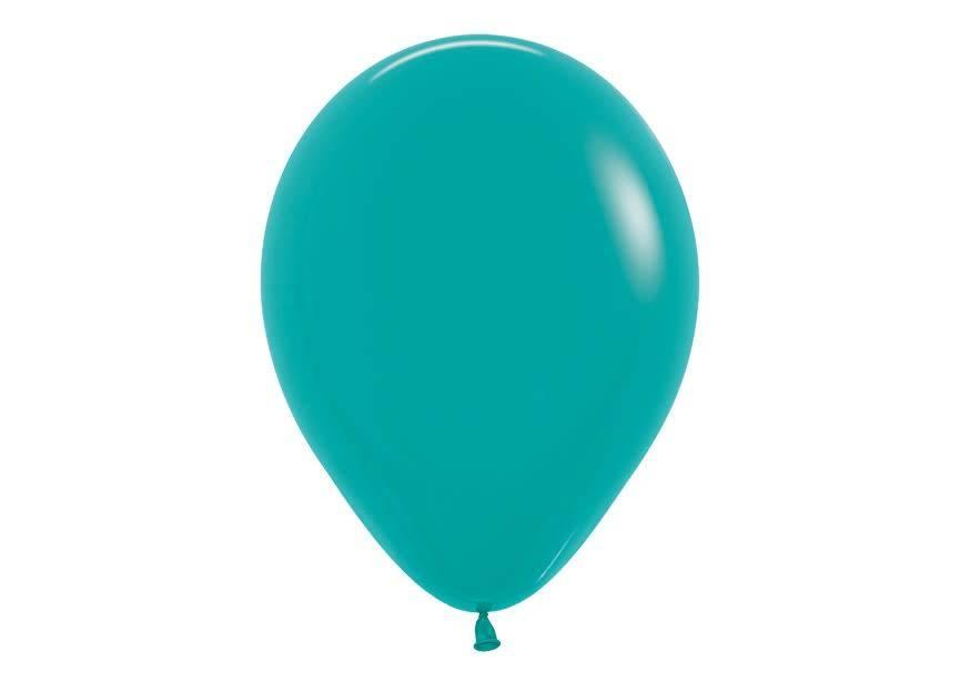 Ballon donker cyaan
