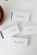 Blinkende vinylstickers in jouw lettertype