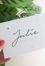 geboren - 02-19 Julie