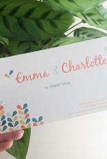 geboren - 03-15 Emma & Charlotte