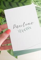 geboren - 05-07 Pauline