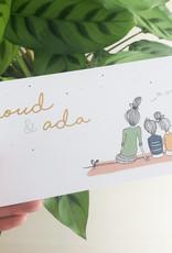 Geboren_24 april Noud & Ada