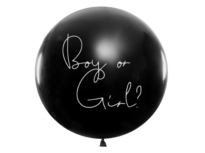 Ballon boy or girl? - jongen