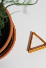 Koekuitsteker driehoek
