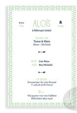 Geboortekaartje Aloïs