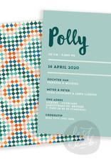 Geboortekaartje Polly