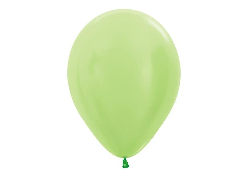 Ballon limoengroen