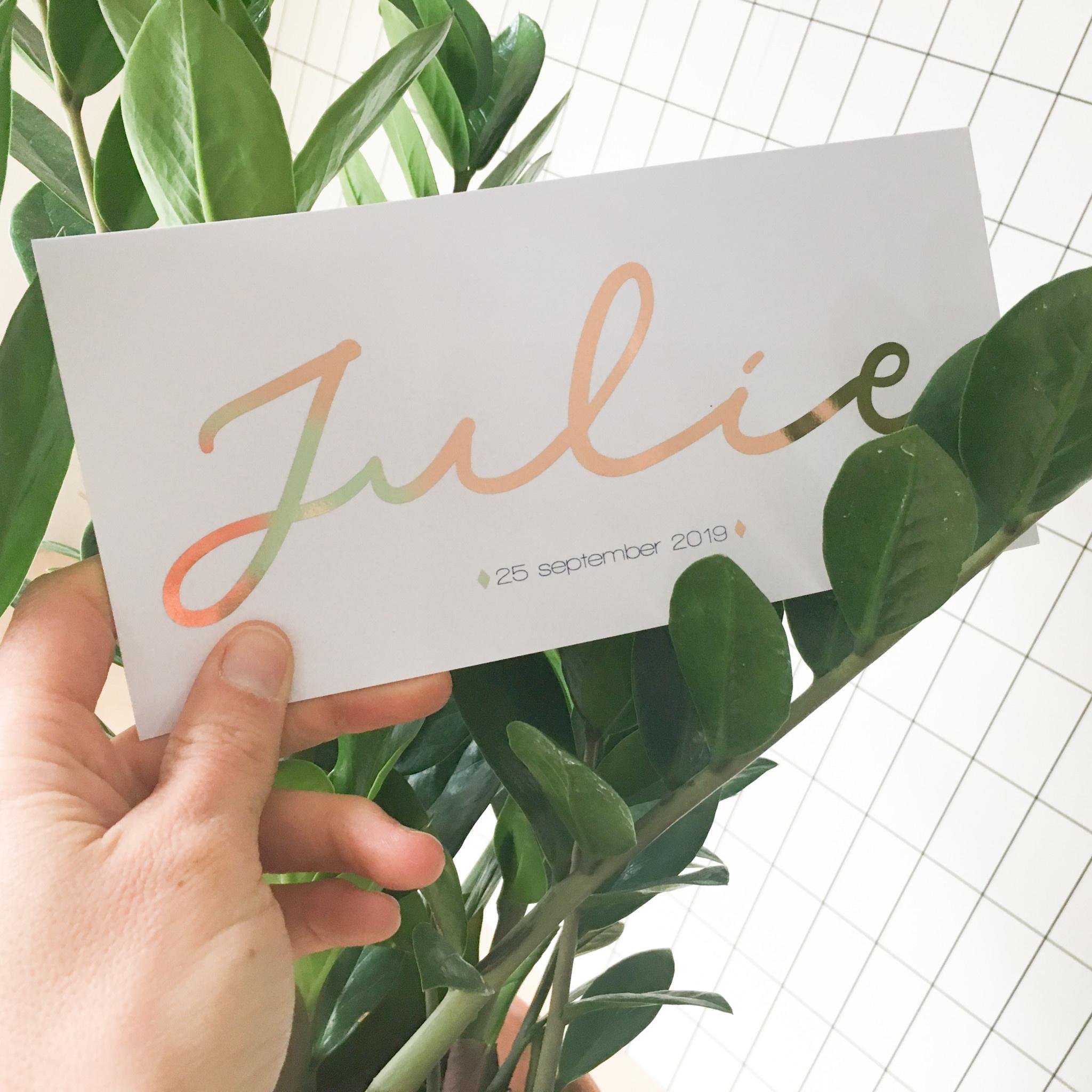 geboren_09-25 Julie