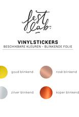 Vinyl sticker • Blinkend